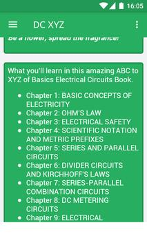 DC Electrical Engineering ABC to XYZ poster