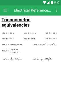 Electrical Engineering XYZ Reference screenshot 2