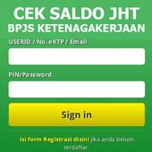 CEK SALDO JHT BPJSTK icon