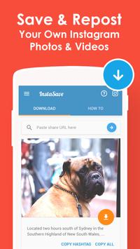 InstaSave - Download Instagram Video & Save Photos poster