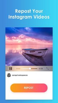 Repost - Free Repost & Save Videos for Instagram apk screenshot