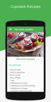 Cupcake Recipes apk screenshot
