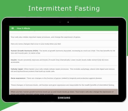 Intermittent Fasting screenshot 2