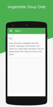 Vegetable Soup Diet - 7 Days screenshot 1