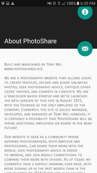PhotoShare - Critique Photos apk screenshot