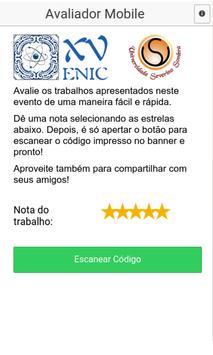 Avaliador Mobile apk screenshot