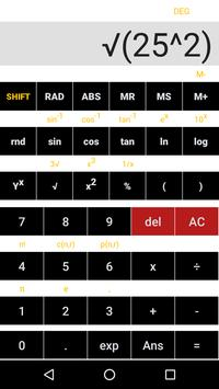 Simple Scientific Calculator screenshot 3