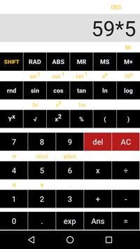 Simple Scientific Calculator poster
