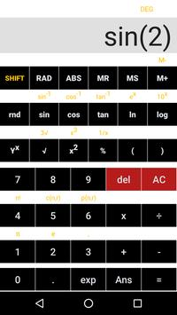 Simple Scientific Calculator screenshot 1