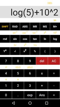 Simple Scientific Calculator screenshot 2