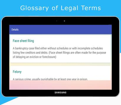 Glossary of Legal Terms screenshot 2