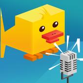 Chicken Go Scream - Voice Jump icon