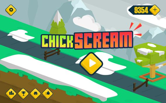 Chicken Go Scream - Voice Jump poster