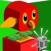 Go Parrot Scream - Voice Jump icon