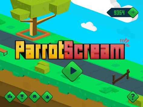 Go Parrot Scream - Voice Jump screenshot 4