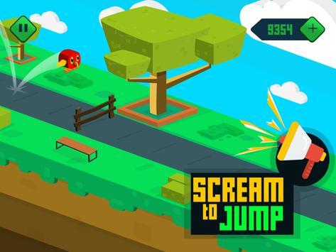 Go Parrot Scream - Voice Jump screenshot 7