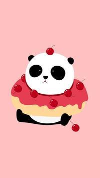 panda kawaii wallpaper hd free screenshot 4