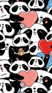 panda kawaii wallpaper hd free screenshot 6
