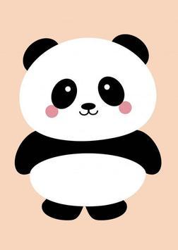 panda kawaii wallpaper hd free screenshot 2