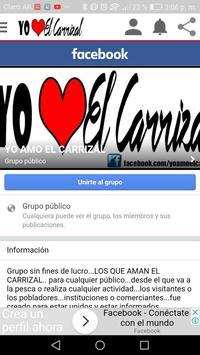 Yo Amo el Carrizal apk screenshot