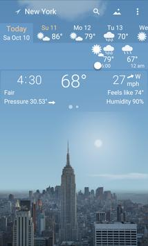 Awesome Weather - YoWindow poster