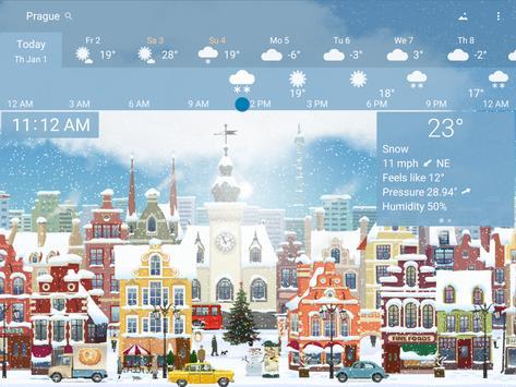 Awesome Weather - YoWindow apk screenshot
