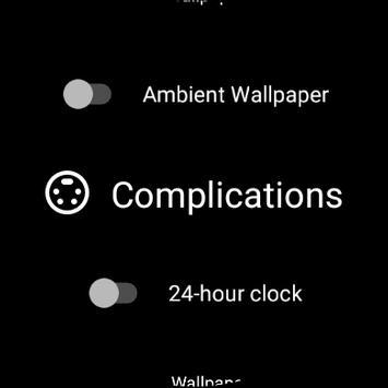 Wear Wallpaper Watch Face screenshot 14
