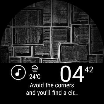 Wear Wallpaper Watch Face screenshot 13