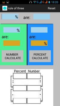 Percent Calculator apk screenshot