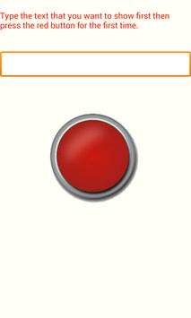 Red Button poster