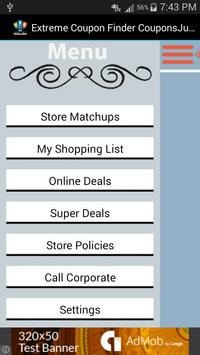Extreme Coupon Finder screenshot 1