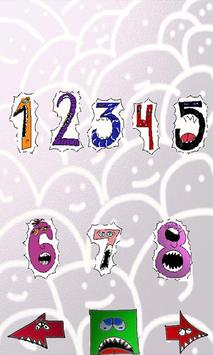 Numbers and Monsters  Mobile apk screenshot