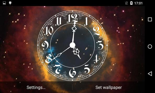 Analog Clock Live Wallpaper screenshot 6