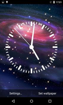 Analog Clock Live Wallpaper 3D poster