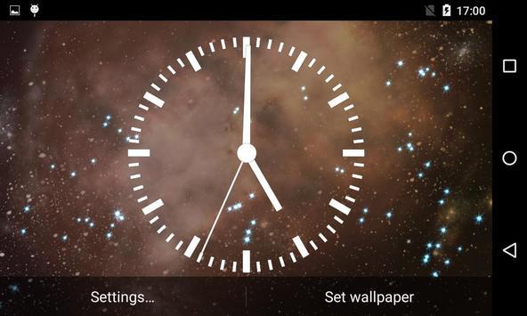Analog Clock Live Wallpaper screenshot 13