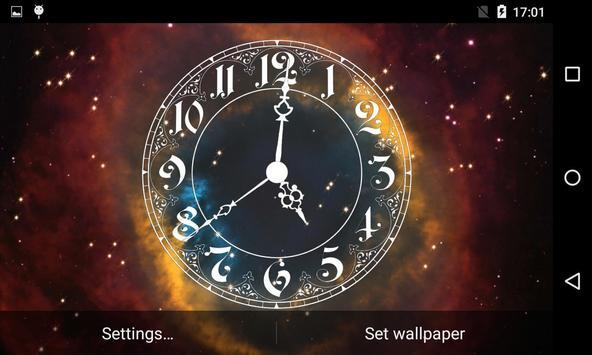 Analog Clock Live Wallpaper screenshot 11