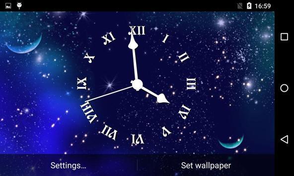 Analog Clock Live Wallpaper screenshot 12
