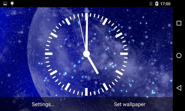 Analog Clock Live Wallpaper screenshot 14