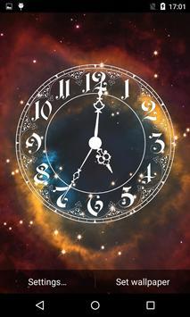 Analog Clock Live Wallpaper 3D apk screenshot