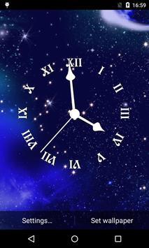 Analog Clock Live Wallpaper screenshot 2
