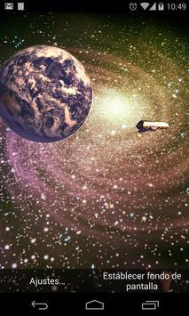 3D Galaxy Live Wallpaper poster