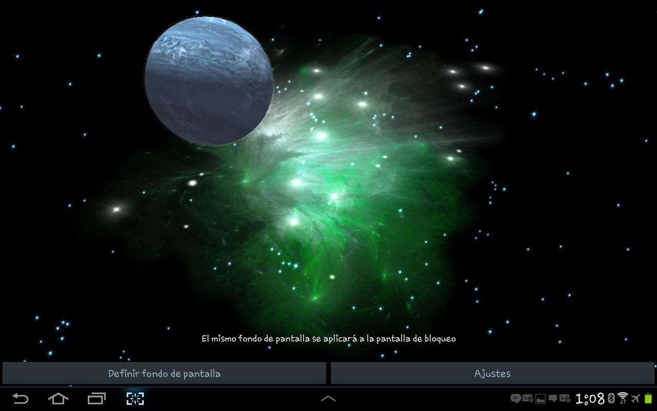 3D Galaxy Live Wallpaper APK Download Free Personalization APP For