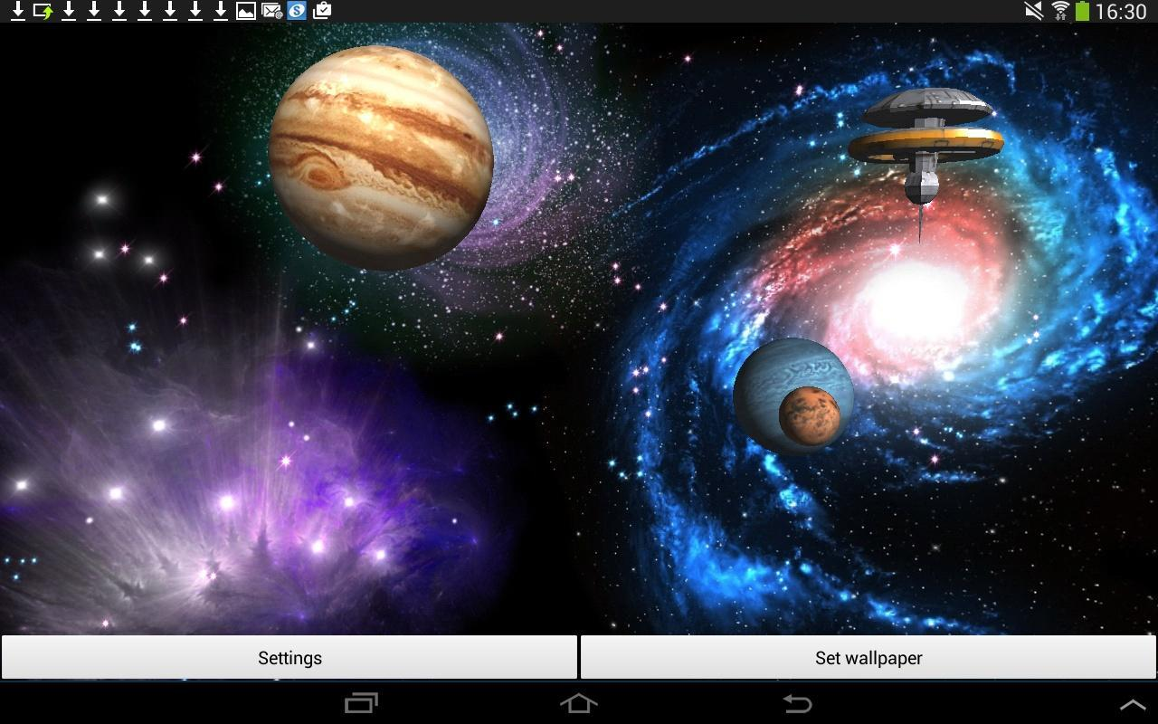 3d space live wallpaper apk download - free personalization app for