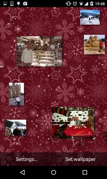 Christmas Photo Gallery Live Wallpaper poster