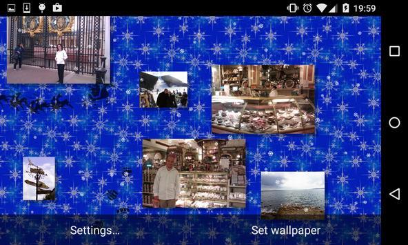 Christmas Photo Gallery Live Wallpaper apk screenshot