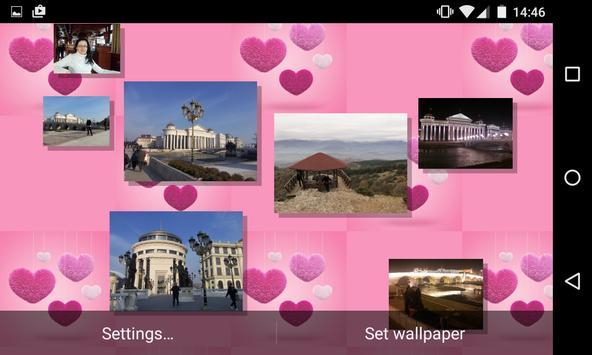 Romantic Photo Gallery Live Wallpaper Free apk screenshot