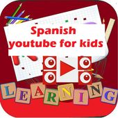 Kids Spanish youtube videos-complete icon