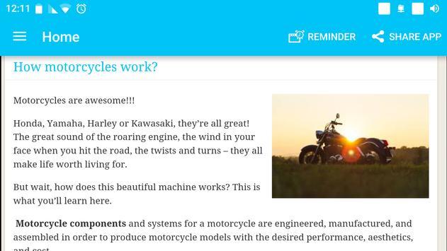 The Art of Motorcycle Maintenance screenshot 4