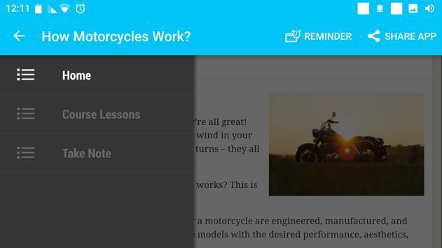 The Art of Motorcycle Maintenance screenshot 1