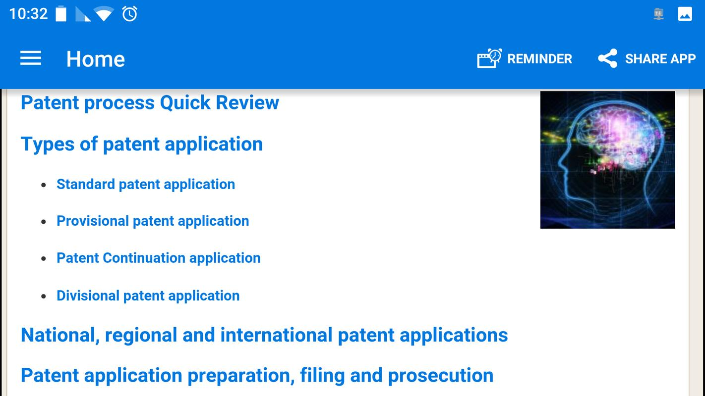 patent your idea - free guide apk download - free lifestyle app for
